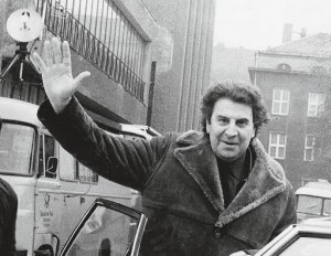 Mikis Theodorakis in Berlin, DDR